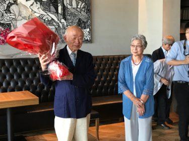 馬場駿吉さんの中日文化賞受賞を祝う会
