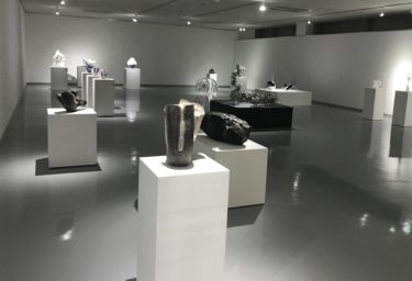 ガラスの変貌Ⅳ ギャラリーヴォイス(岐阜県多治見市) シンポも開催