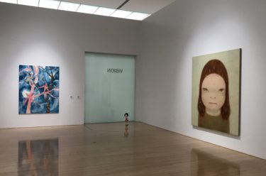 奈良美智さんの新作展示 杉戸洋さん、村瀬恭子さんの作品と 豊田市美術館
